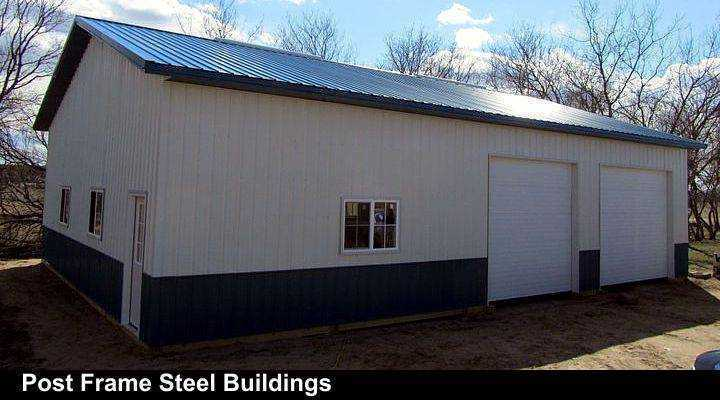 Post Frame Steel Buildings